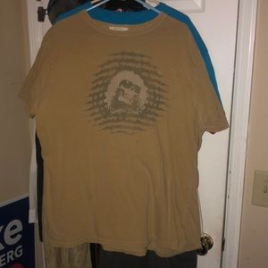 Tan Jerry Garcia T-shirt made by junk food  XXL